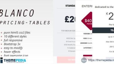 Blanco Pricing Tables – [Codecanyon Scripts]