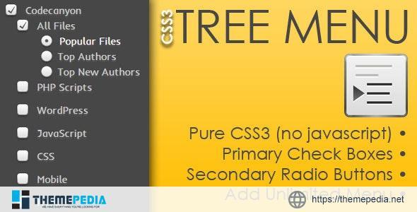 CSS3 Tree Menu – [100% Nulled Script]